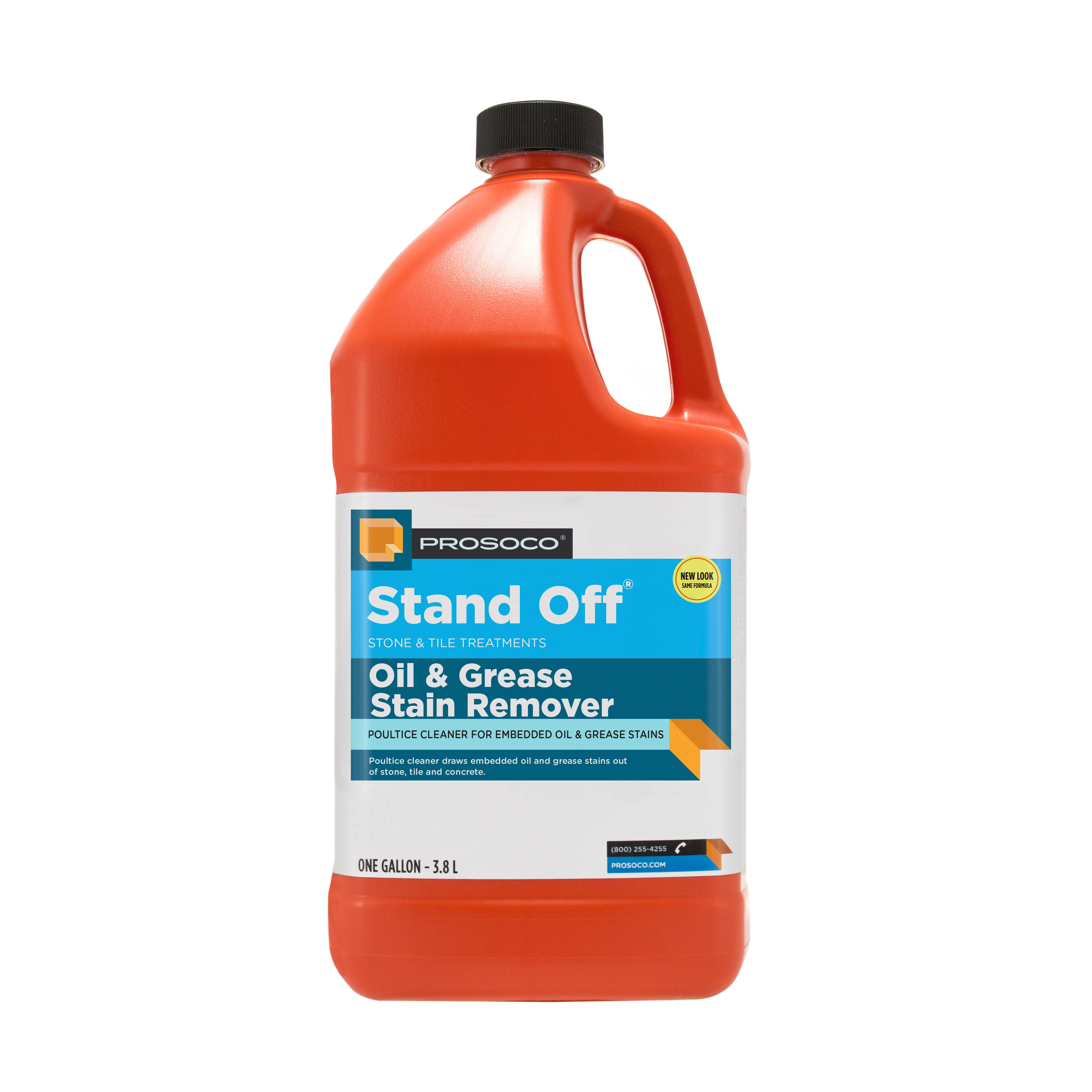 Prosoco Stand Off® Oil and Grease Stain Remover, 1-gal.
