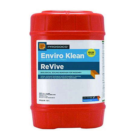 Prosoco Enviro Klean® ReVive Biological Soiling Remover, 1-gal.
