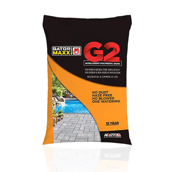 Alliance Gator Maxx G2 Polymeric Paver Sand 50-lb., Black Diamond
