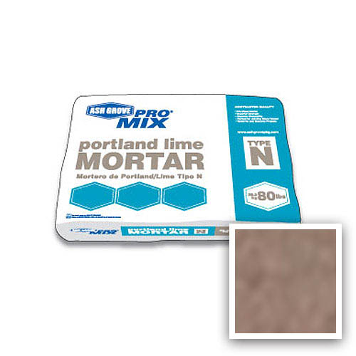 Ash Grove Pro Mix® Mortar Portland/Lime Type N 80-lb., Mocha
