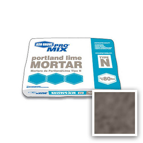 Ash Grove Pro Mix® Mortar Portland/Lime Type N 80-lb., Chocolate