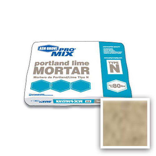 Ash Grove Pro Mix® Mortar Portland/Lime Type N 80-lb., Toast