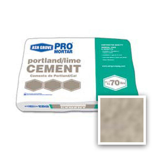 Ash Grove Pro Mix® Cement Portland/Lime Type N 70-lb., Mushroom