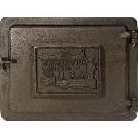 "Vestal Cast Iron Clean Out Door, 8""x12"""