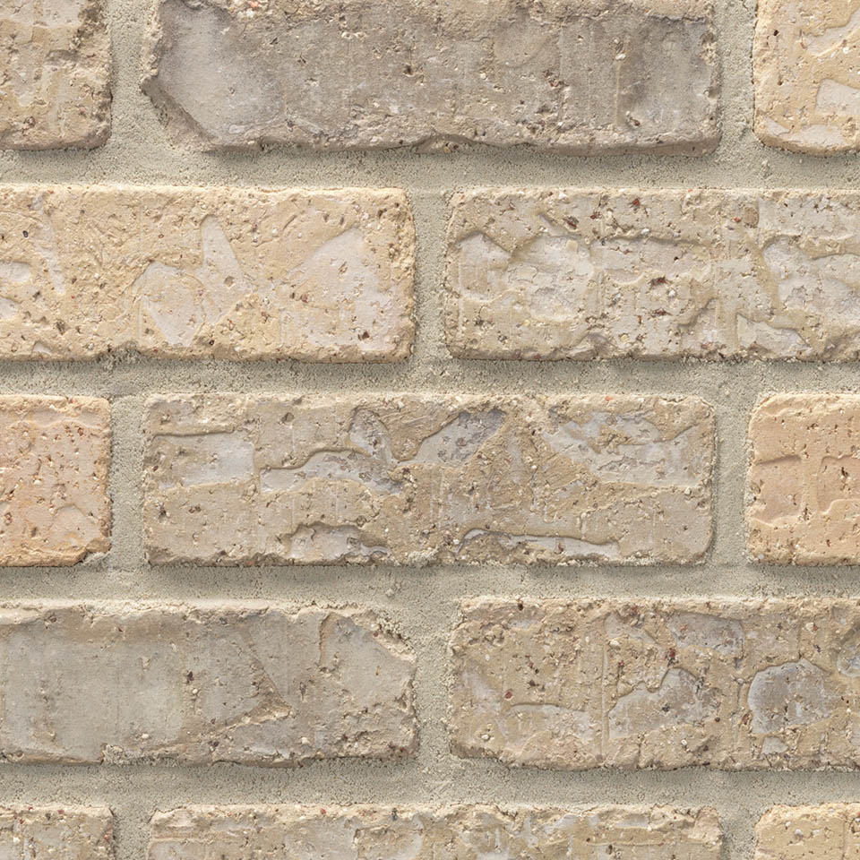 Acme® Brick Denver Buff Colorado Modular Brick, Rumbled