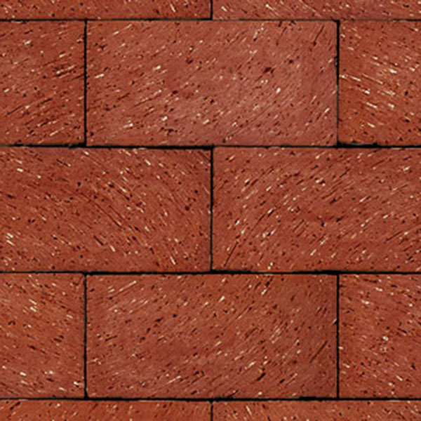 "Endicott Red Blend 12"" Pool Coping Paver, Wirecut"